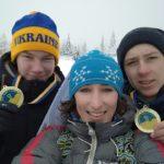 Шосткинські лижники завоювали золото і срібло на Чемпіонаті України
