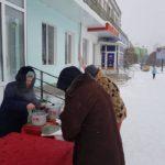 У центрі міста почали роздавати безкоштовні обіди