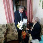 У Шостці привітали 100-річного ювіляра (cюжет)