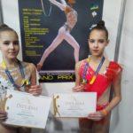 Шосткинські гімнастки вдало виступили на Кубку Дерюгіної