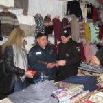 В рамках всеукраинской операции «Мигрант» в Шостке провели отработку продуктового рынка (Фото)