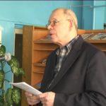 Поет Олександр Таратайко презентував поціновувачам свою нову поезію (сюжет)