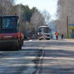 Проводятся ремонтные работы на участке дороги Шостка-Глухов