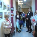 У музеї Шосткинського казенного заводу «Імпульс презентували виставку Ольги Княгницької (Відео)