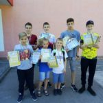 Здобутки шосткинських спортсменів на відкритій першості Сумської області з плавання
