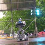В День Перемоги дітлахи поспілкувалися зі справжнім роботом  (сюжет)