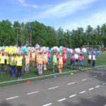 Вихованці дитячих садочків влаштували запальний флешмоб (відео)