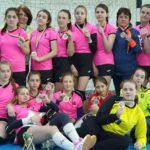 Шосткинські гандболістки - бронзові призери Чемпіонату України «Стрімкий м'яч» з гандболу