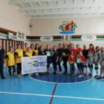 З нагоди Дня Європи молодь грала в волейбол