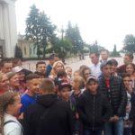 Детям с Богдановского УВК повезло сфотографироваться с Владимиром Зеленским