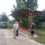 В Локотському мікрорайоні встановили нову зупинку (фото)