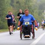 Шосткинські спортсмени подолали легкоатлетичний марафон «Визволення» (Сюжет)