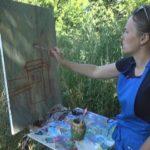 Ювілейний пленер зібрав шосткинських митців у Новгород-Сіверську (сюжет)