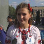 Найкраща «панянка» Шосткинської громади - представниця Ображіївки Владислава Залозна