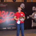 13-ти річний шосткинець Дмитро Величковський здобув золото на Міжнародному чемпіонаті з пауерліфтингу