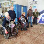 Спортсмени-любителі з інвалідністю змагались на точність у спортивній грі «боча» (сюжет)