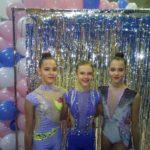 Наші гімнастки призери відкритого чемпіонату області