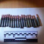 У шосткинця, що розпивав спиртне поліціянти знайшли патрони