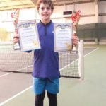 Шосткинський  тенісист виборов бронзу всеукраїнського турніру