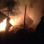 Вчора рятувальники приборкували вогонь у с. Крупець та с. Собичеве
