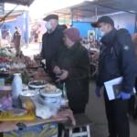 У Шостці заборонена реалізація продуктів на відкритому повітрі, а також виїзна торгівля з палаток, прилавків та розкладок(Сюжет)