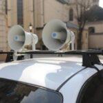 Про дотримання правил безпеки під час карантину попереджають із гучномовця
