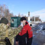 Прикордонники чатують на короновірус на кордоні з Росією