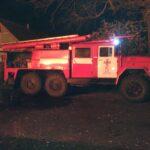 В результаті пожежі на вул. Ушакова постраждав чоловік