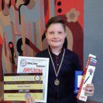 Журі трьох конкурсів оцінило юного баяніста із Шостки