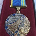 Керівник АРТ-студії отримала медаль за відданість справі