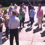 У місті мітингували проти дистанційного навчання (Сюжет)