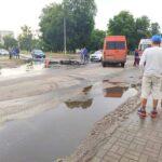 Страшна аварiя на перехрестi вулиць Марата та Короленко (Фото)