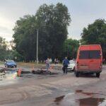 Подробности вчерашней аварии на перекрестке улиц Короленко и Марата
