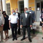 Голова Сумської ОДА Роман Грищенко відвідав шосткинський ліцей (сюжет)