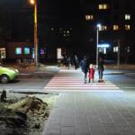 10 пішохідних переходів будуть освітлені новими LED-світильниками (сюжет)