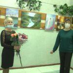 Вернісаж, який надихає – персональна виставка картин Тетяни Логачової відкрилася в Центральній бібліотеці (сюжет)